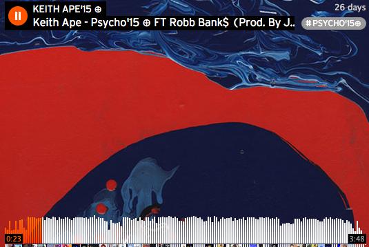 keith ,ape, robb, banks, psycho