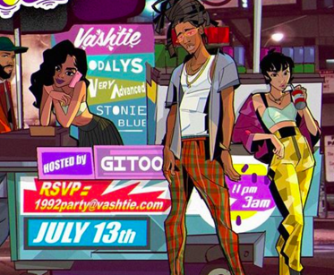 VASHTIE and 1992 Party is back with odalys