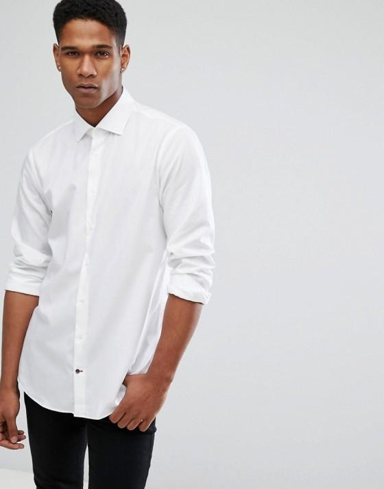 Tommy Hilfiger Shirt White Work dress