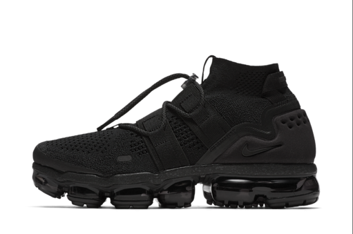 Nike Air VaporMax Flyknit Utility Running Shoe Size 9 (Black) (Product Feed)