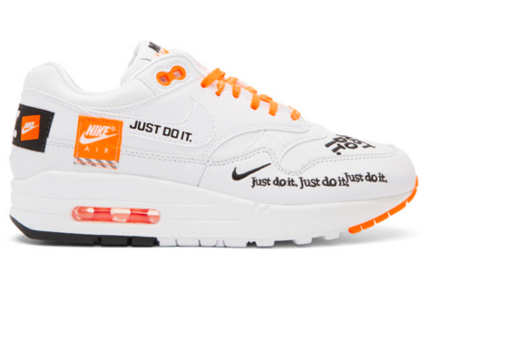 Nike White 'Nike Air Max 1 Lux' Sneakers