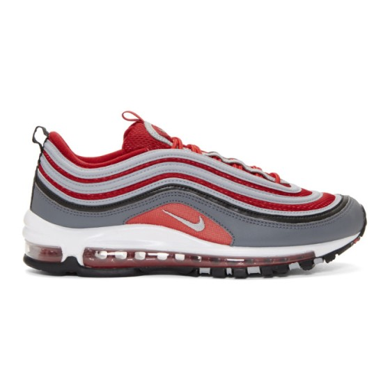 Red and Grey nike air max 97 Supa Fly Mag