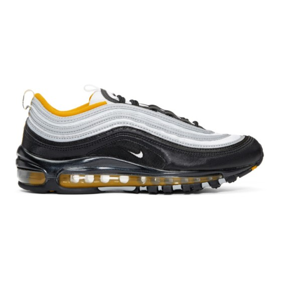 Black and white nike air max 97 supa fly mag