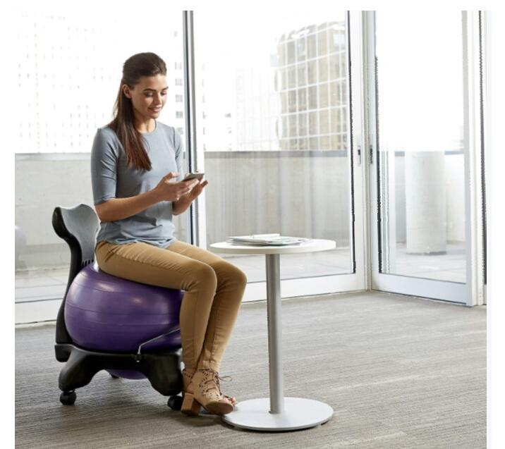 Gaiam Yoga Ball Chair at Supa Fly Mag