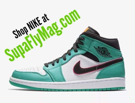 Supa Fly Mag Nike Jordan Retro collection