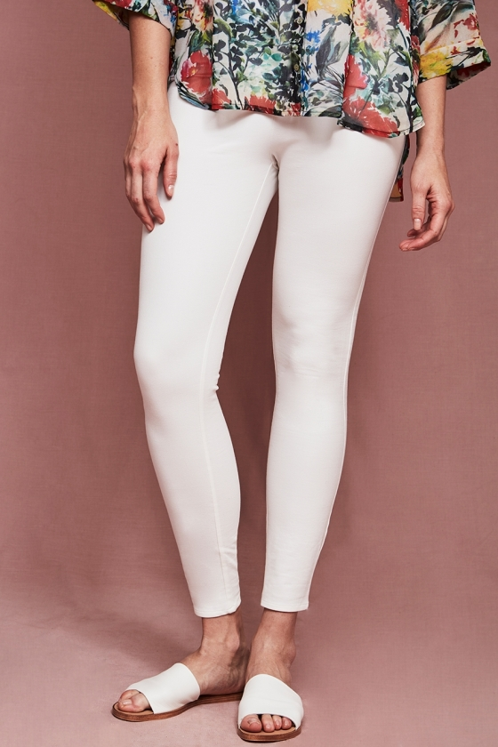Hope Fashion Supa Fly Mag Chalk White Trousers
