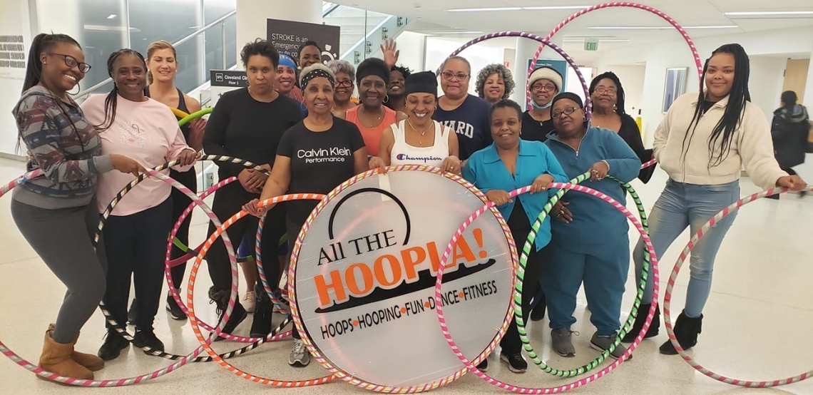 """""""All The Hoopla"""""""" Cleveland Clinic"""""""" 8 week health challenge"""" 2020"""
