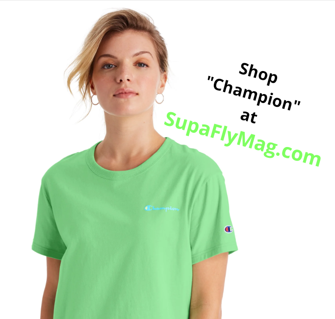 Shop Champion boyfriend tee at SupaFlyMag