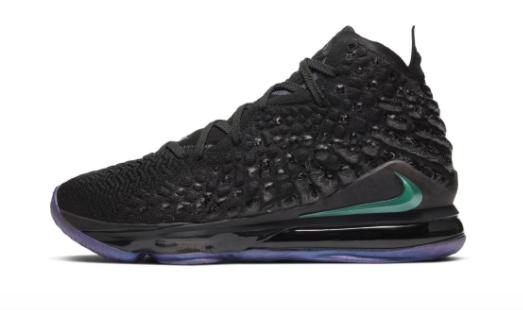 NIke Lebron 17 2020 size 10 sneaker in black