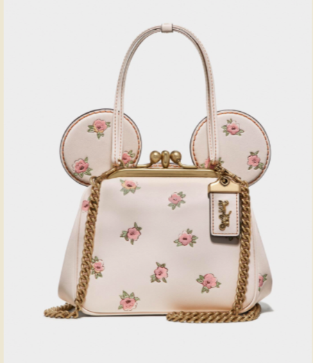 Coach X Disney 2020 Minnie Clutch White at SupaflyMag.com