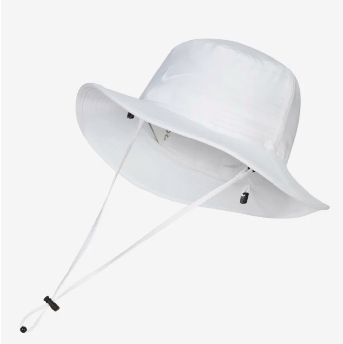 Nike Dri-FIt Golf Bucket in white 2020 at Supa Fly Mag